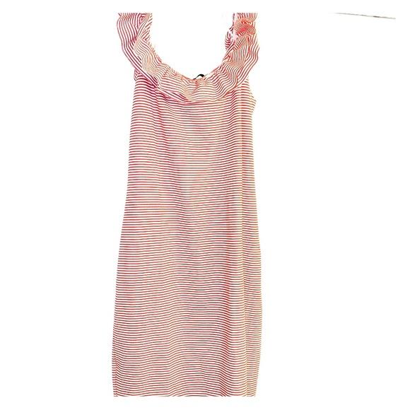 Zara Dresses & Skirts - Peppermint Stripe Bodycon Dress